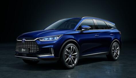 Kinesisk el-SUV får syv seter som standard