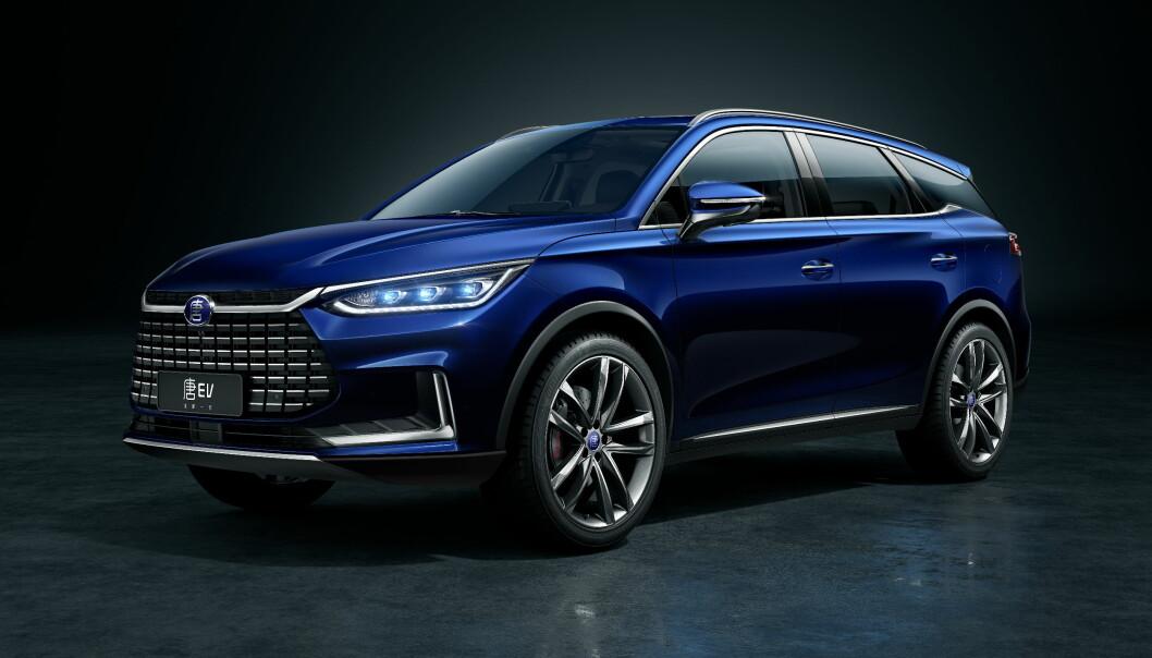 VENTES TIL SOMMEREN: BYD Tang er den rimeligere konkurrenten til Audi e-tron, som kommer fra Kinas største privateide bilprodusent.