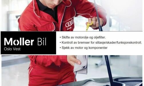 Møller tilbyr oljeskift (!) på elbil