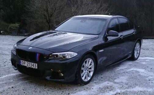 «Strøken» BMW hadde to rammenumre