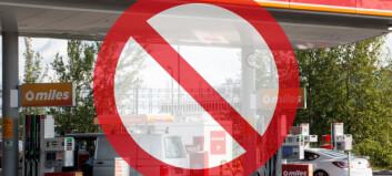 Innfører forbud mot nye bensinstasjoner