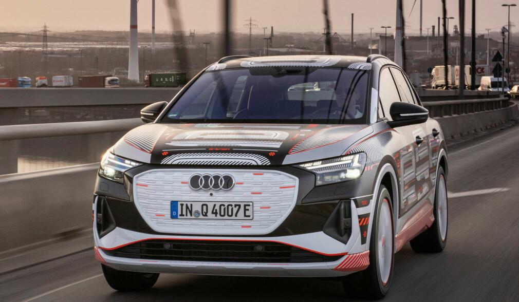 Her er bildene av Audis kommende el-SUV