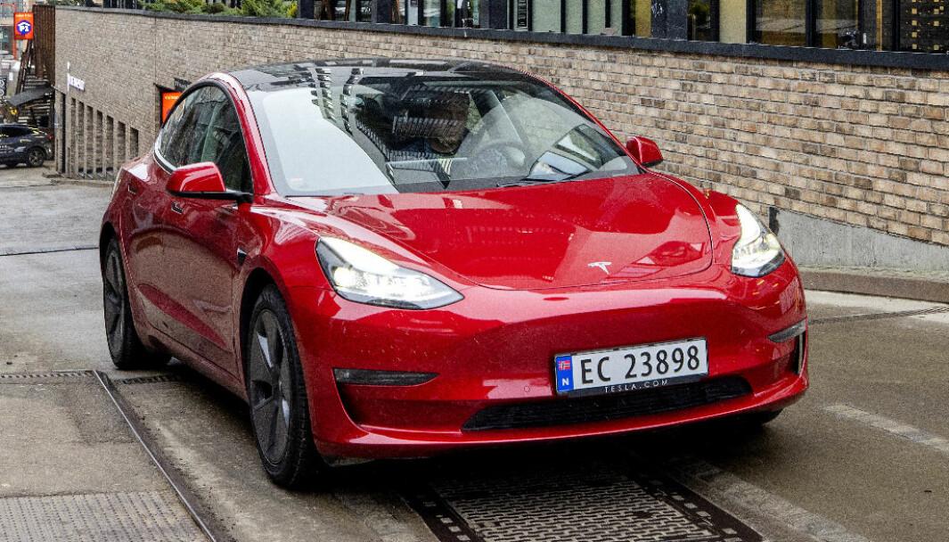 REKKEVIDDEVINNER: Tesla Model 3 LR.