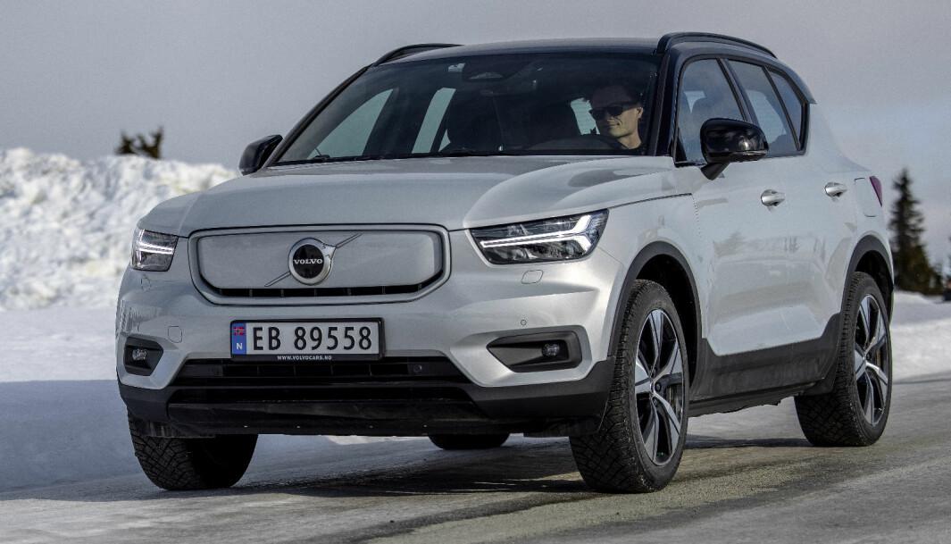 """<span class="""" font-weight-bold"""" data-lab-font_weight_desktop=""""font-weight-bold"""">RYDDET OPP: </span>Volvo XC40 er blitt en bedre bil etter at den kom på markedet. Diverse oppdateringer har gjort at eierne generelt er enda mer fornøyde."""