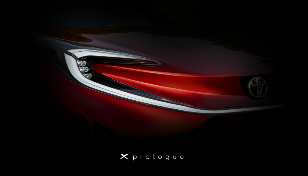 SPENNING: Dette er første smakebit av Toyotas elbilsatsing i Europa.