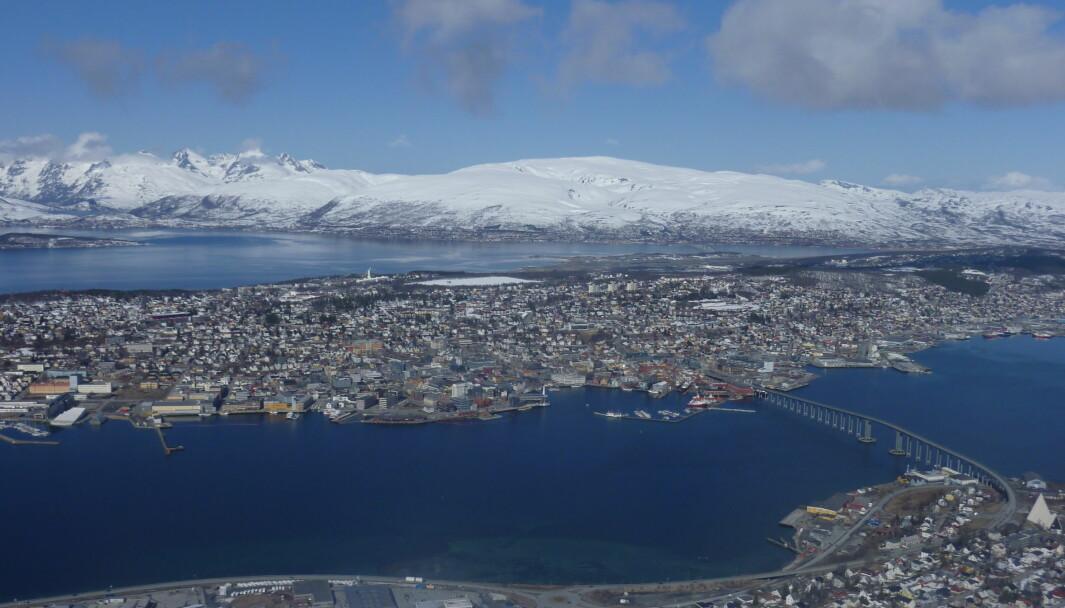 SNART ENDA FINERE: Tromsø skal bruke 6,5 milliarder på en serie samferdselstiltak.