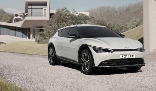Her er de første bildene av Kias nye elbil