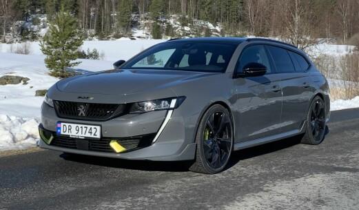 Tidenes sterkeste Peugeot holder det den løver