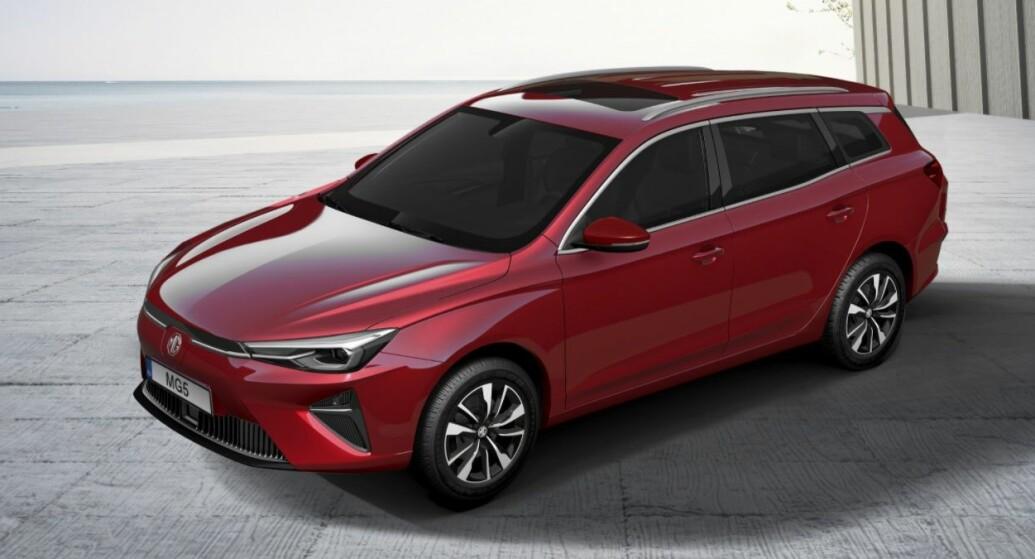 Kina-import blir første elektriske stasjonsvogn