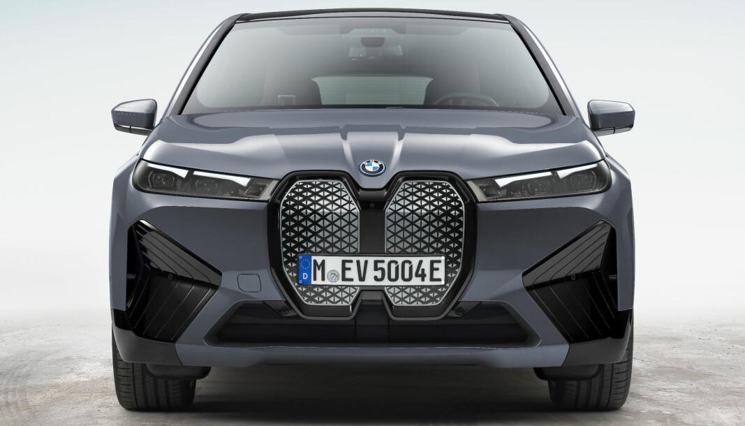 FEMTE GENERASJON: iX er BMWs nyeste elektriske satsing, men den vil fortsette å bruke batterier med flytende elektrolytt.