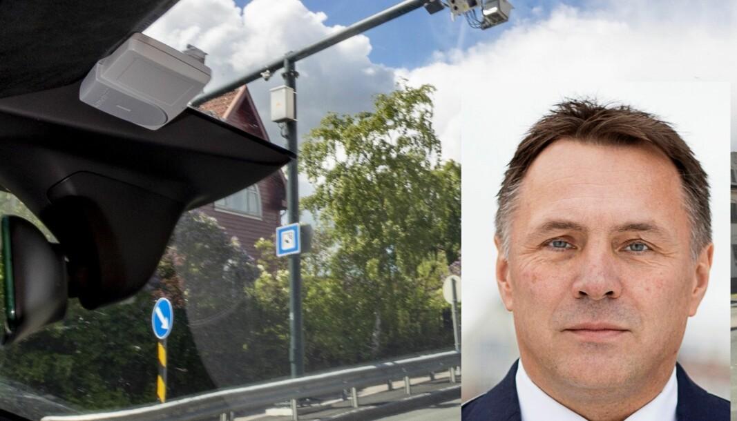 KREVER BETALING: Fylkesordfører Tore O. Sandvik mener elbilistene må betale i bomringene.