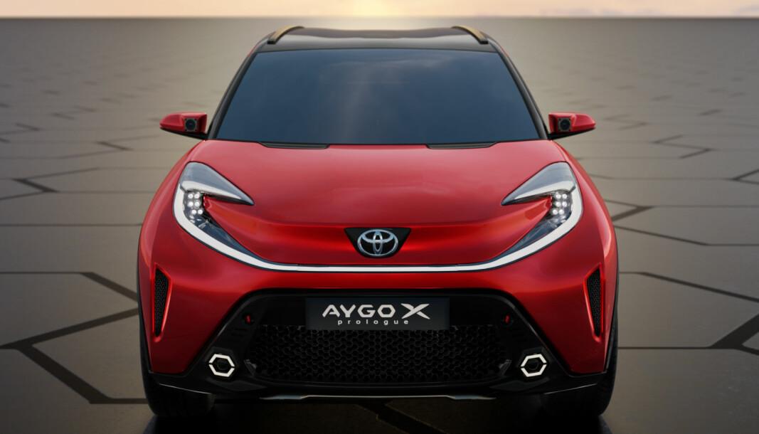 LITEN LURING: Dette er neste Toyota Aygo.