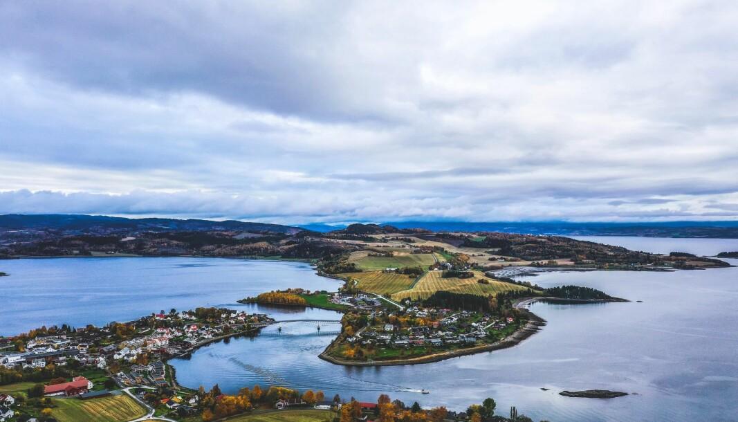 DEN GYLNE OMVEI: Reisen går blant gjennom det vidunderlige kulturlandskapet på Inderøya.