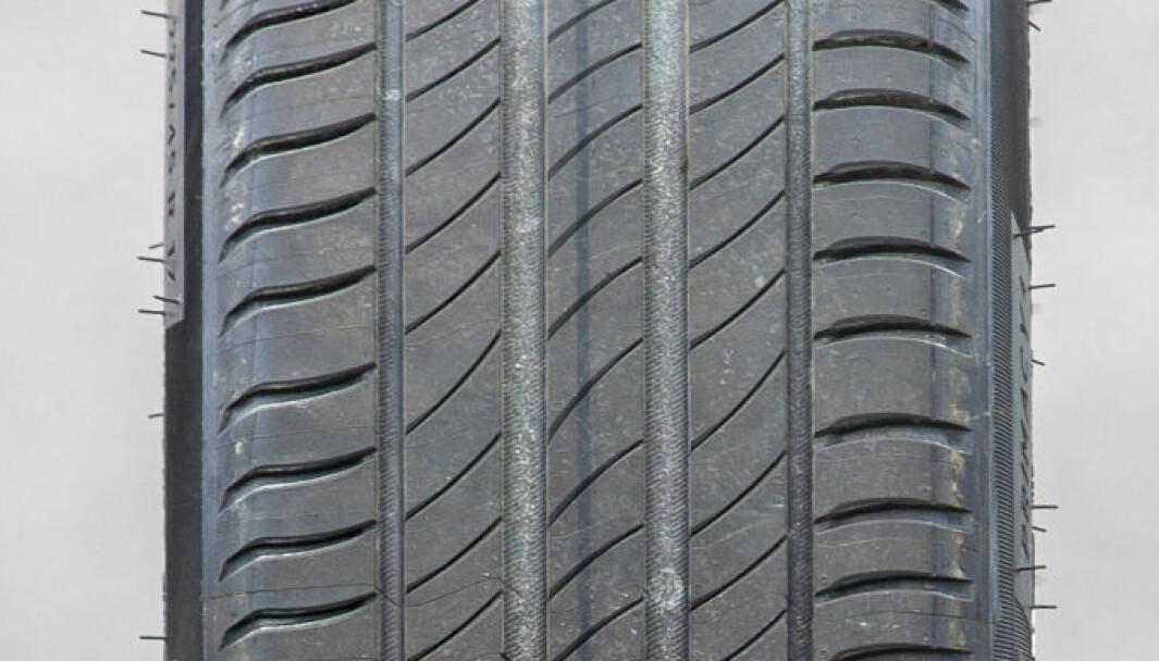 RULLER BRA: Michelin Primacy 4 har det laveste forbruket.