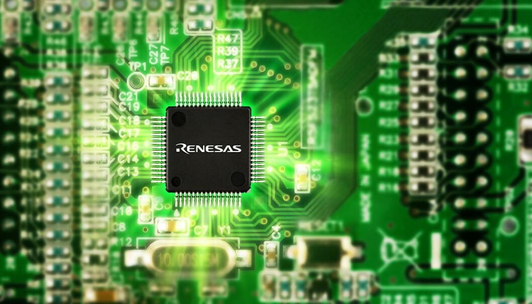 ETTERTRAKTET: Det er kraftig underskudd på mikroprosessorer som denne i verdens bilindustri.