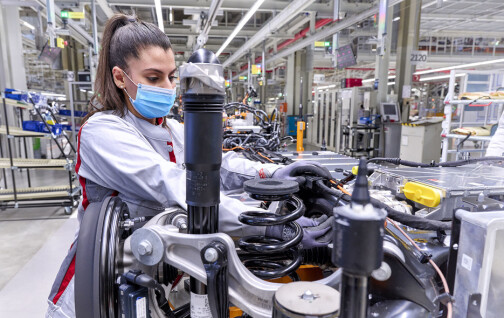 Har startet produksjonen av Audis neste elbil