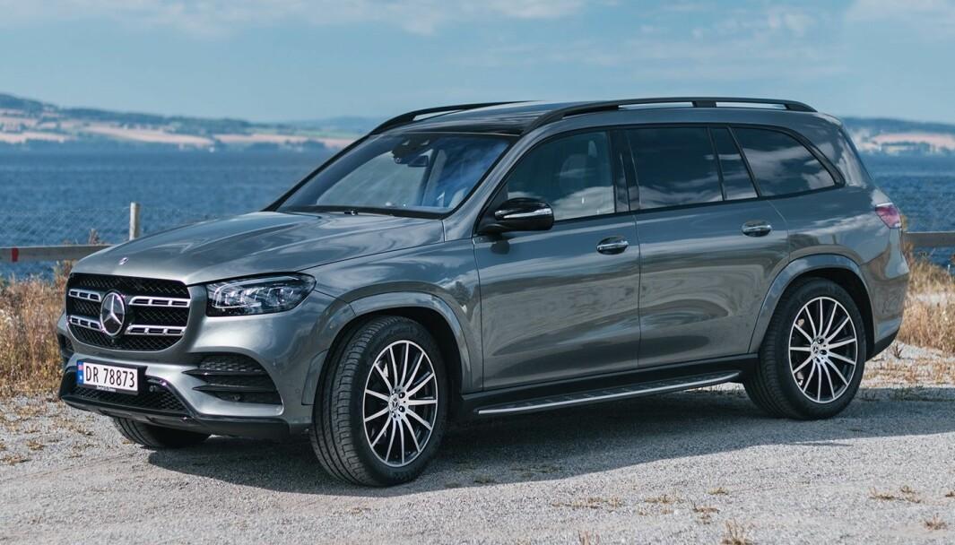 DRØMMEBIL: En Mercedes GLS vil nok for mange havne i finaleheatet når en drømmebil skal plukkes ut.