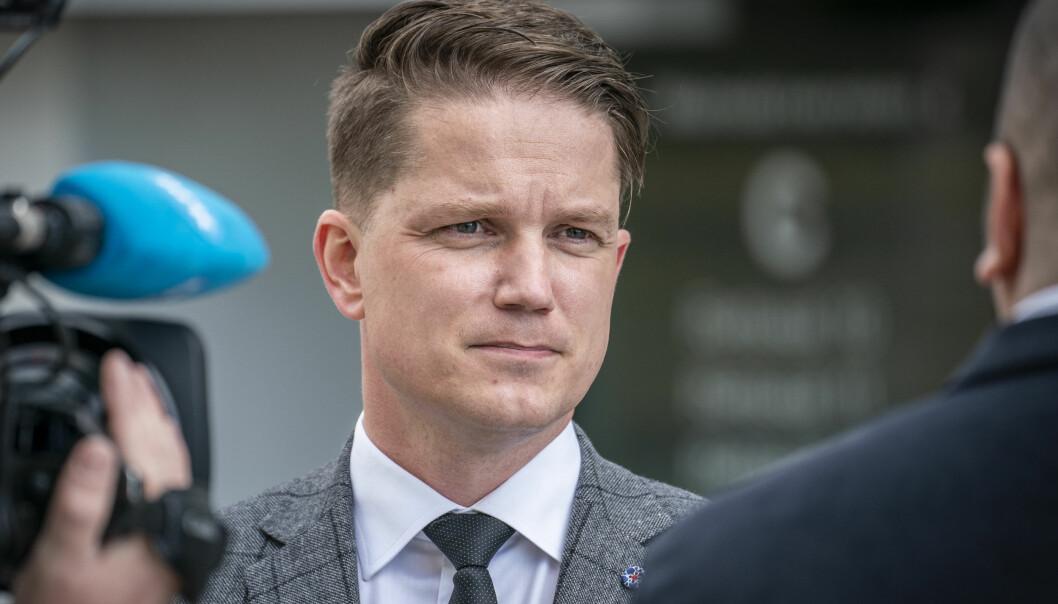 POLITI-KRITIKK: Advokat Olle Nohlin førte ankesaken for bruktbilselgeren.
