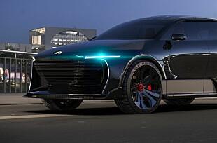 Viser planene for solcelledrevet el-SUV