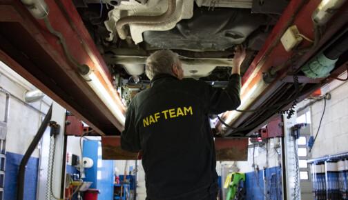 NAF-test avdekket ikke alvorlig feil