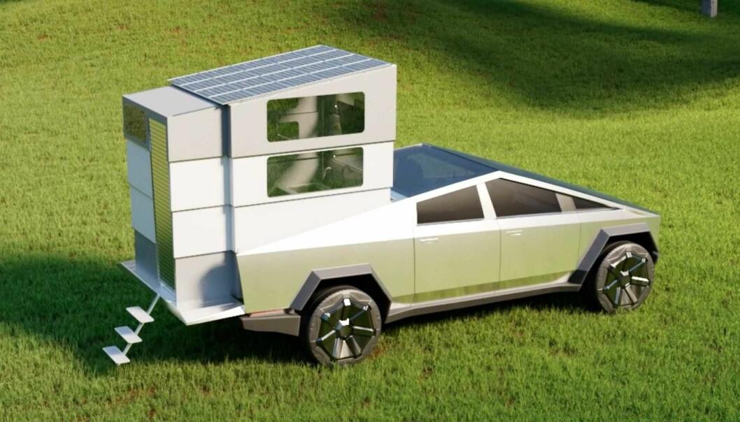 Her er påbygget som gjør Tesla-favoritten til en bobil