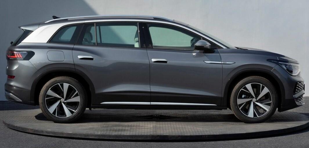 STOR EL-SUV: Det er i Shanghai den kommende VW ID.6 skal avdukes neste uke.