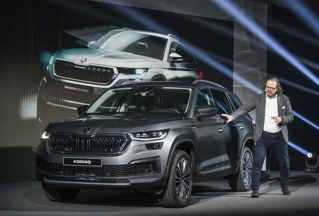 NEW LOOK: Bestselgeren blant dieseldrevne SUV-er her i landet gjøres mer aktuell, blant annet med et mer staselig oppsyn.
