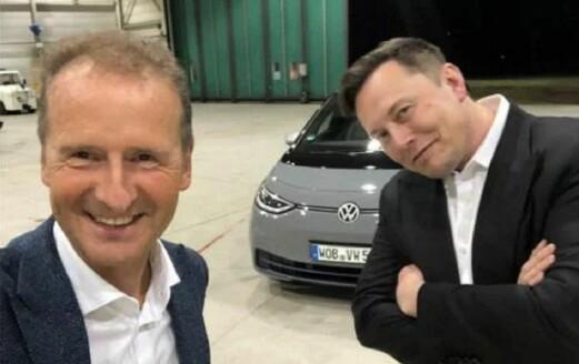 – VW-sjefen bedt om å overta for Elon Musk