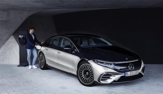 Mercedes kutter alt av bensin og diesel innen 2030