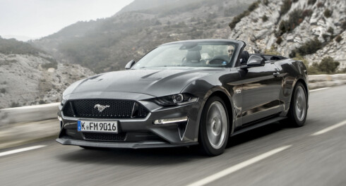 Ford Mustang på topp for 6. år på rad
