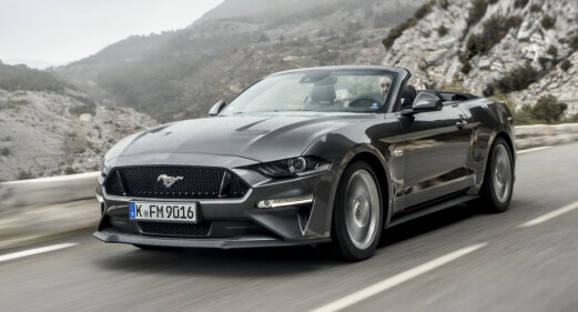 Ford Mustang på topp for 6. år på rad