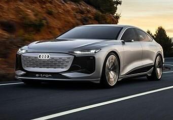 Lekket bilder av Audis elbil-hemmelighet
