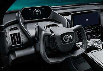 Her er bildene av Toyotas første elbil