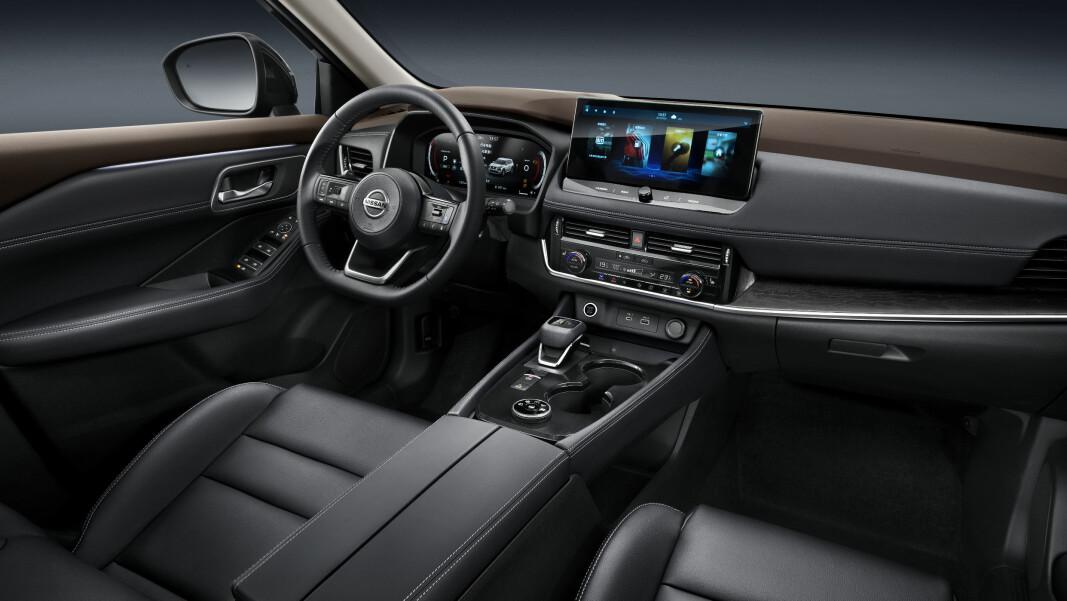 """<span class="""" font-weight-bold"""" data-lab-font_weight_desktop=""""font-weight-bold"""">KONSERVATIV: </span>Nissan X-Trail er ikke bilen for fremtidsrettede tekno-freaks av den eksperimentelle typen."""