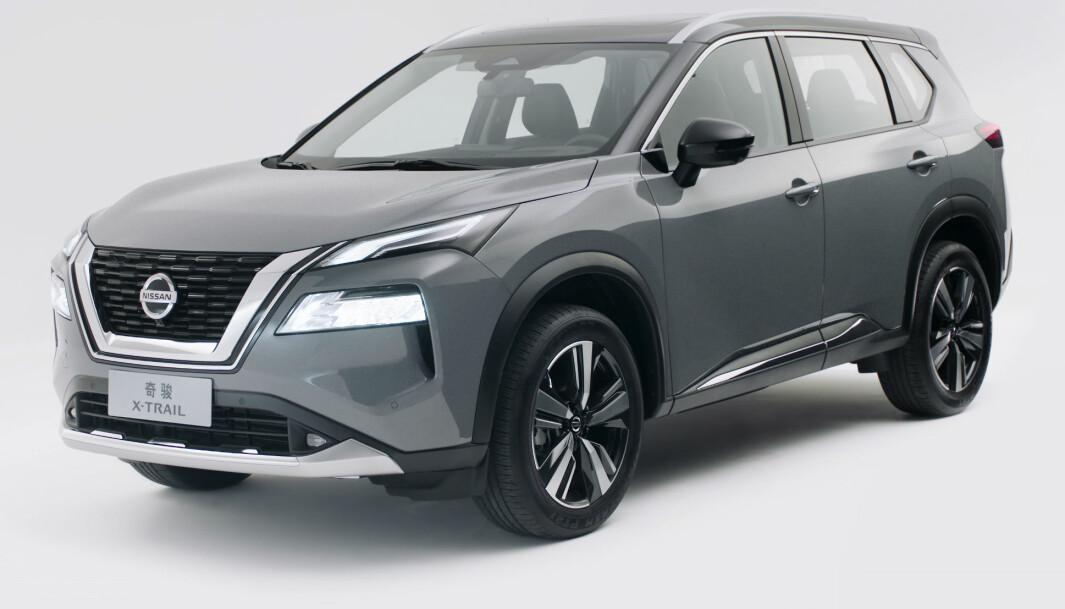 RAV4-KONKURRENT: Nissan X-trail er i samme kategori som Toyotas storselger - men kan leveres med en tredje seterad.