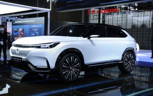 Honda kommer med elektrisk SUV