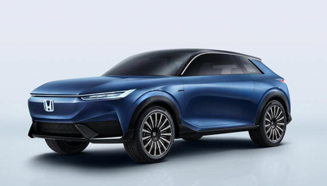 "<span class="" font-weight-bold"" data-lab-font_weight_desktop=""font-weight-bold"">FAKE NEWS:</span> Vi skal bare være glad for at ikke Honda gikk videre med designspråket de viste på konseptbilen SUV e:concept fra i fjor høst."