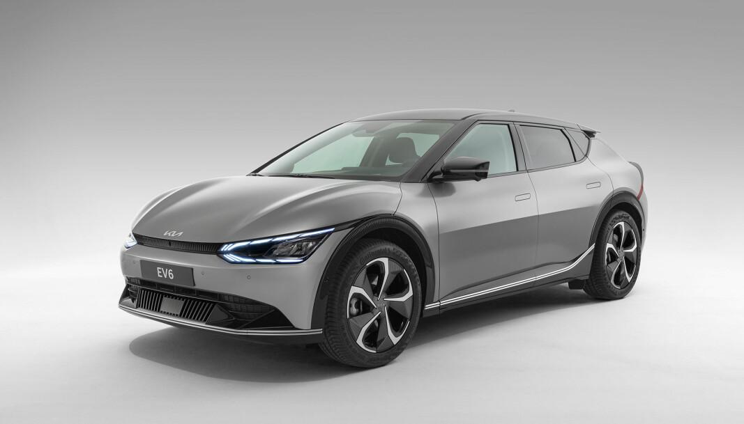FORVENTNINGER: Kia EV6 er den første modellen på en ny plattform skapt for elbiler, og langt på vei starten på en ny tidsepoke for merket.