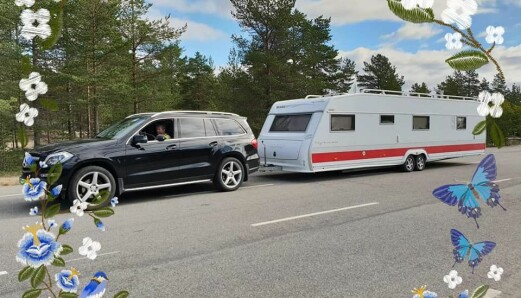 For noen blir en campingvogn aldri lang nok