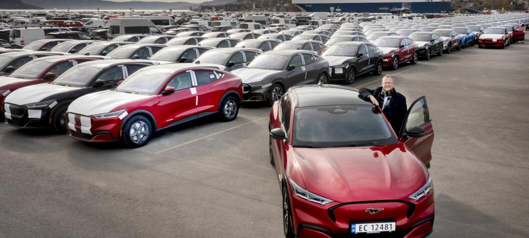 Rykteflom om leveringspause for Mustang Mach-E