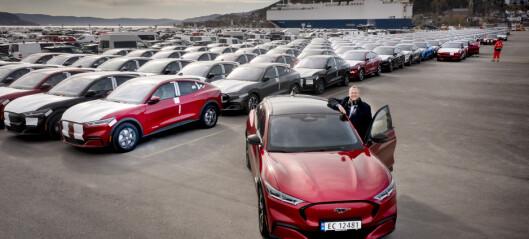 Ford vil bruke mer på elbiler enn fossilbiler fra 2023