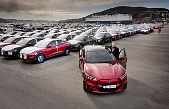 Slipper endelig Mustangene løs i Norge