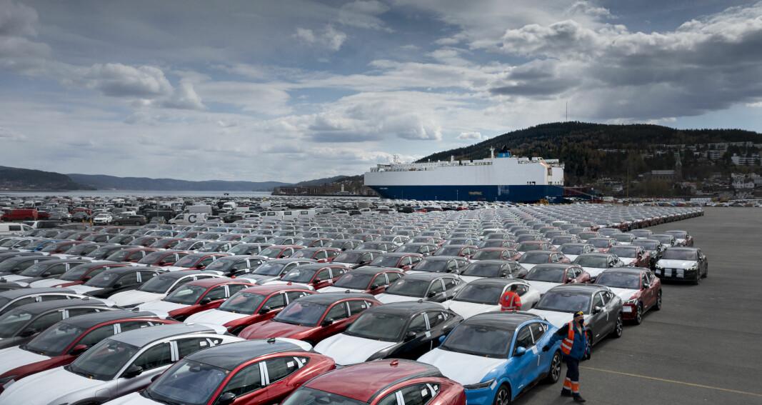 Ford skal bli helelektriske i Europa – med hjelp fra VW