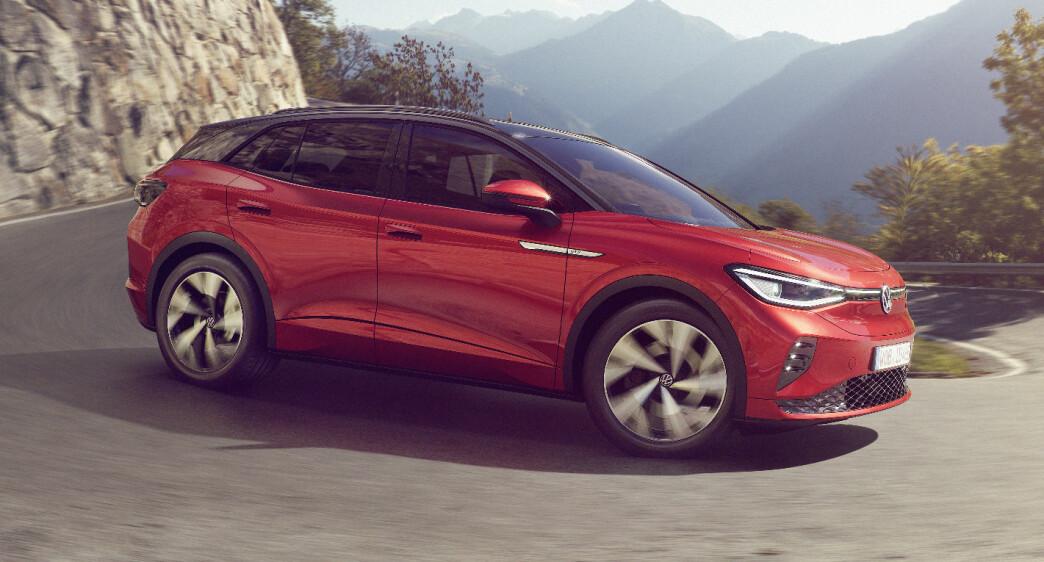 VW med firehjulstrekk på nye ID.4 GTX