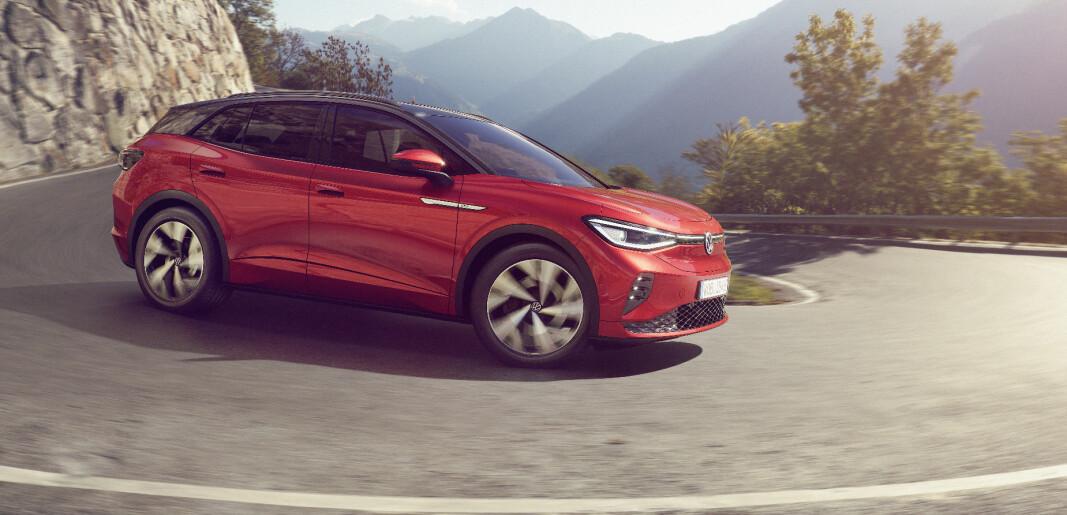 VW med firehjulsdrift på nye ID.4 GTX