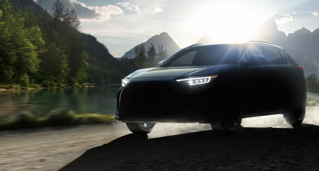 Subarus elektriske SUV skal hete Solterra