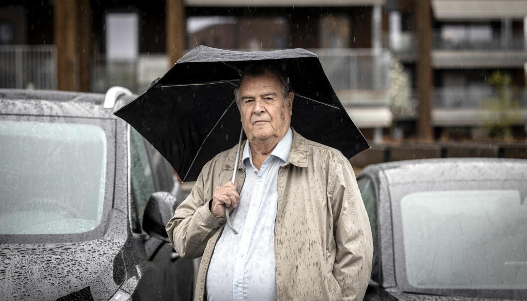 UHELDIG: Helge Sagen mener hans VW ID.3 har hatt et alvorlig bremseproblem.