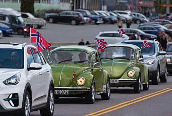 Slik 17.mai-pynter vi bilene våre