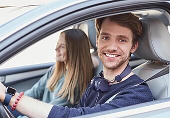 Så mye tregere reagerer du med hodetelefoner i trafikken