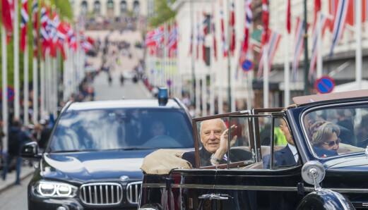 Kongens biler kan bli stengt ute fra Oslo sentrum
